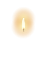 candle flame a